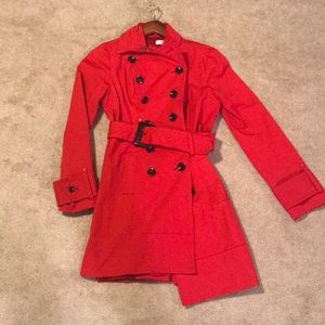 Red petit coat